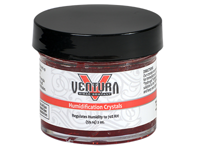 $6.99 – Ventura Humidifier Crystals – 2oz Jar 75 Cigars
