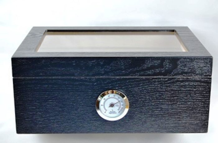 $89.99 – New Breed Magnetically Sealed Black Glass Top 60 ct.